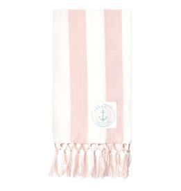 Geschirrtuch Ditte pink mit Fransen 50 x 70 cm von Greengate