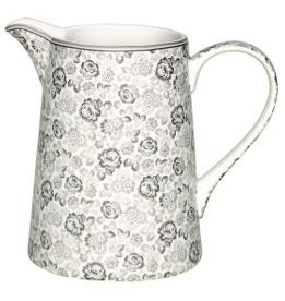 Greengate Krug 1 l Luise warm grey