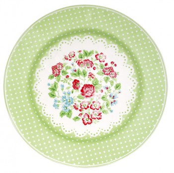 Greengate Speiseteller Ivy green