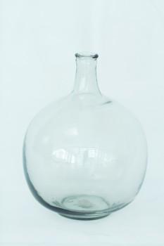 IB Laursen Bodenvase Glas bauchig
