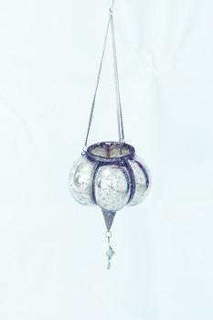 PTMD silber-antique Hängewindlicht klein