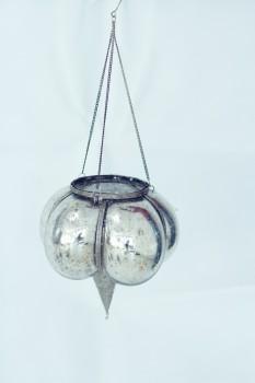 PTMD silber-antique Hängewindlicht groß
