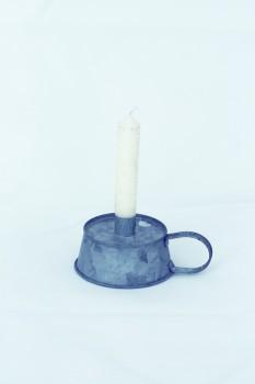Kerzenhalter zink mit Griff von Ib Laursen