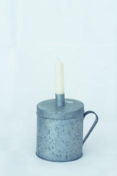 Kerzenhalter - Dose groß zink von Ib Laursen
