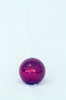 Dekokugel Glas - rot Ø 14 cm