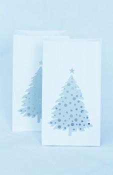 """Räder - Lichttüten """" Weihnachtsbaum """" 2er Set"""