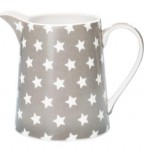 Greengate Krug 0,5 l Star warm grey