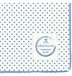Stoffserviette Spot indigo blue 40 x 40 cm von Greengate