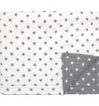 GreenGate Quilt Star White 100 x 140 cm